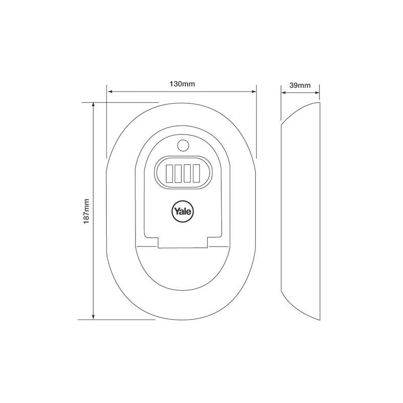 yale schl sselbox y500 10011 beschlagtechnik konstruktionsservice 31 89. Black Bedroom Furniture Sets. Home Design Ideas